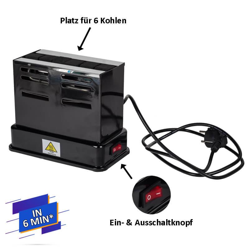 Prime Blaze Toaster Kohleanzünder | elektrisch