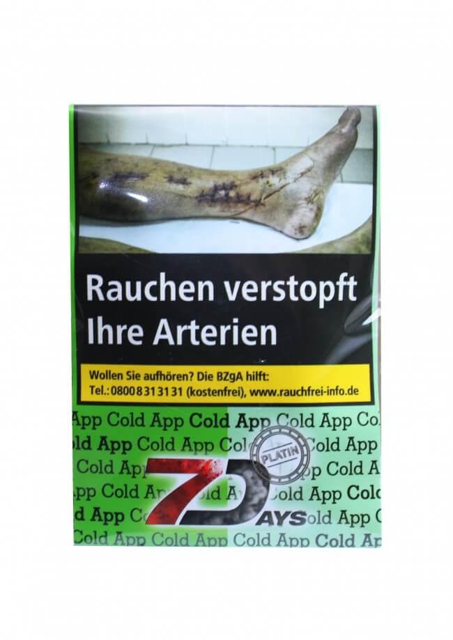 7 Days Platin Tabak - Cold App 20g