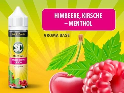 SC Vape Base - Himbeere Kirsche Menthol 50ml - 0mg/ml
