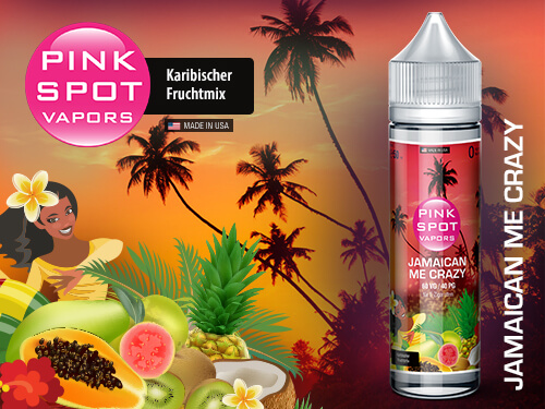 Pink Spot - Jamaican Me Crazy 50ml - 0mg/ml