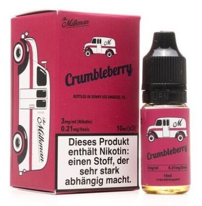 Crumbleberry (3x10ml) - The Milkman Liquid - 6mg/ml