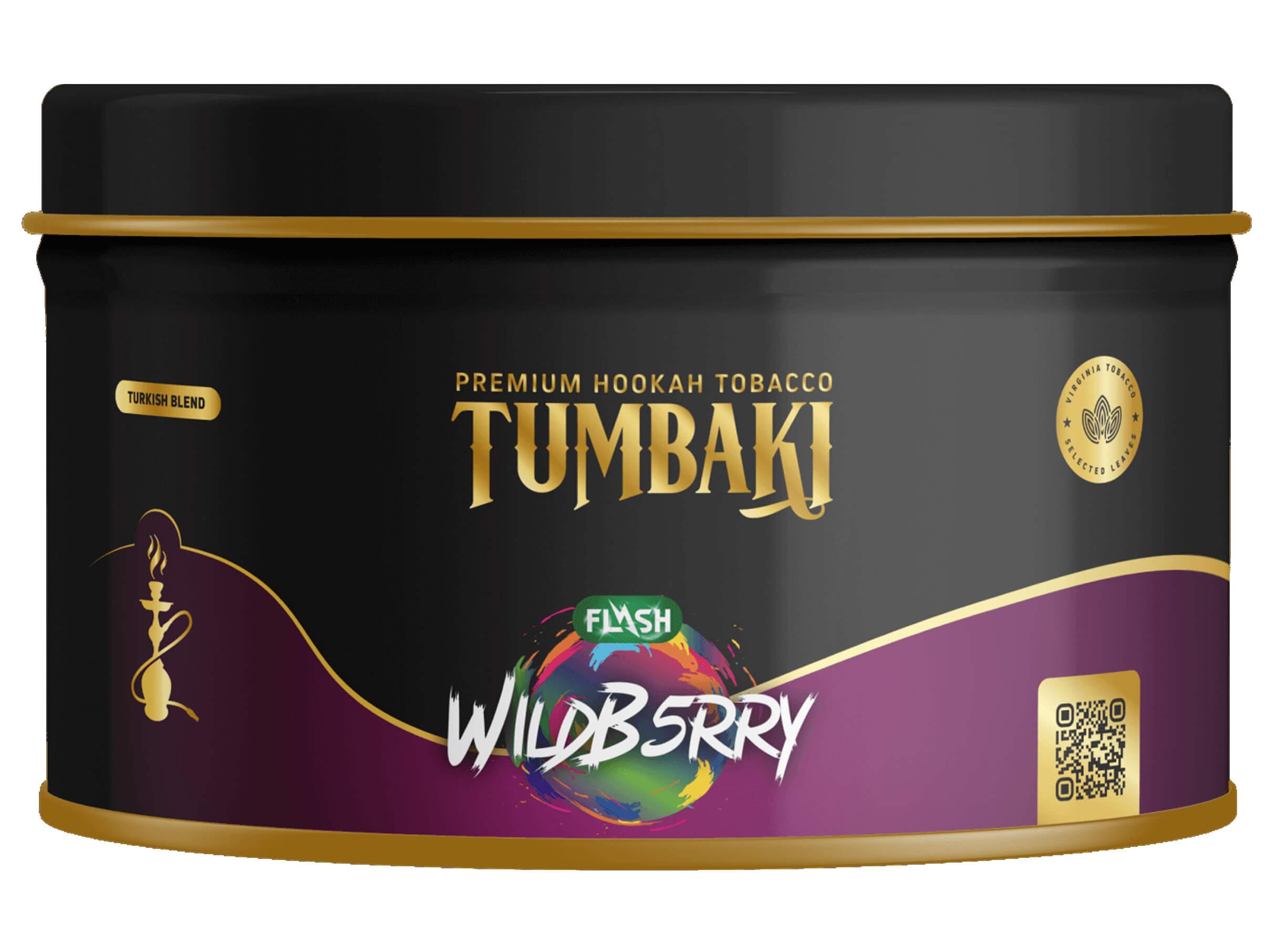 Tumbaki Tabak Wildb5rry Flash 200g