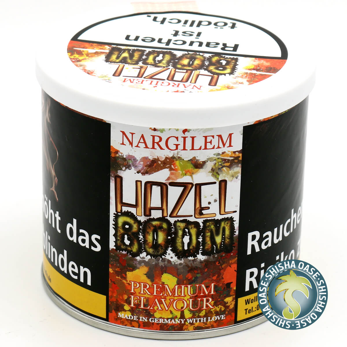 Nargilem Tabak Hazel Boom 200g Dose