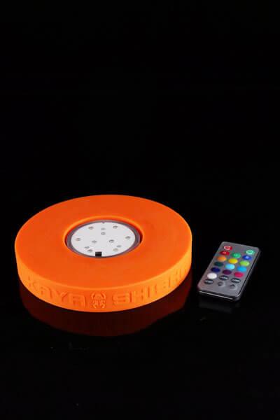 Silicone LED Base inkl. Unterwasser LED-Licht mit Fernbedienung