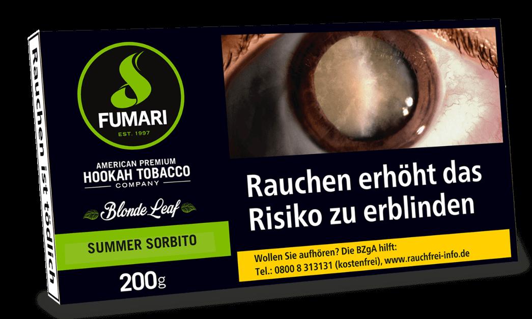 Fumari Tabak Summer Sorbitto 200g