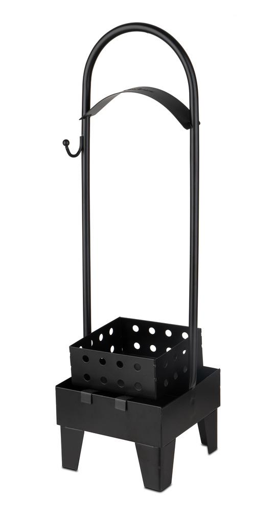 Smokah Kohlebehälter groß - Schwarz