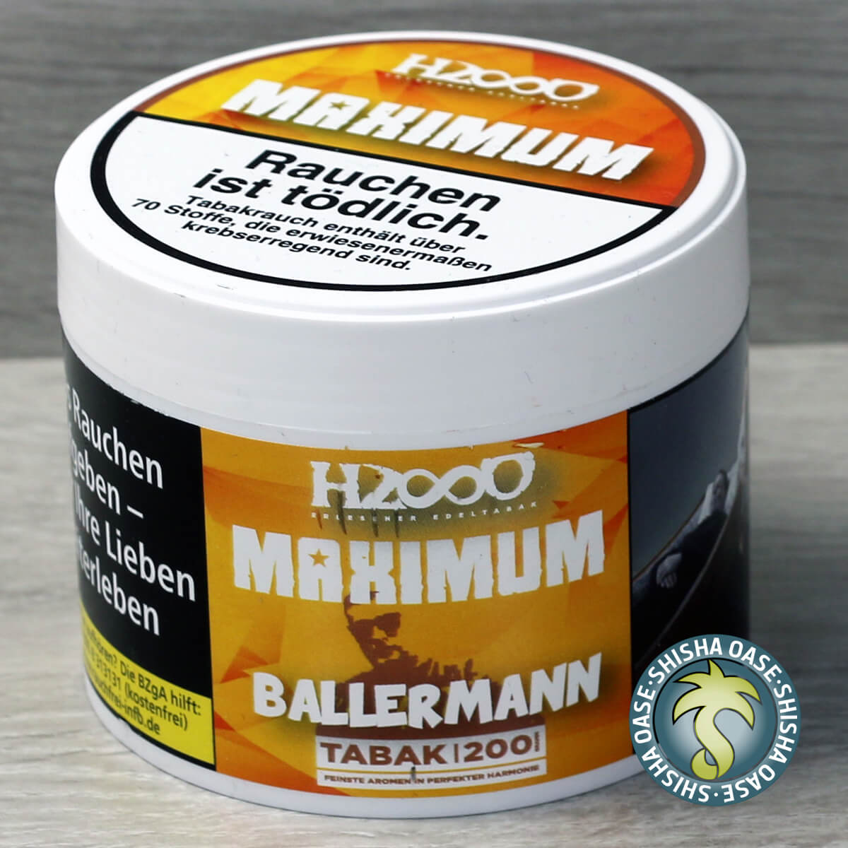 Hasso Tobacco Maximum Line 200g - Ballermann