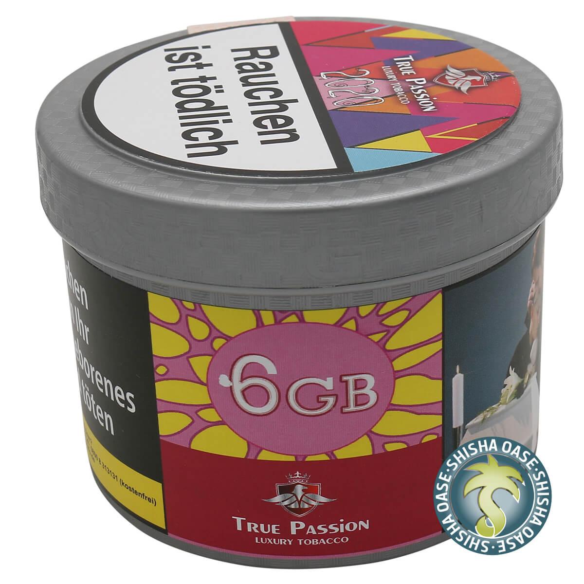 True Passion Tabak 200g Dose | 6GB