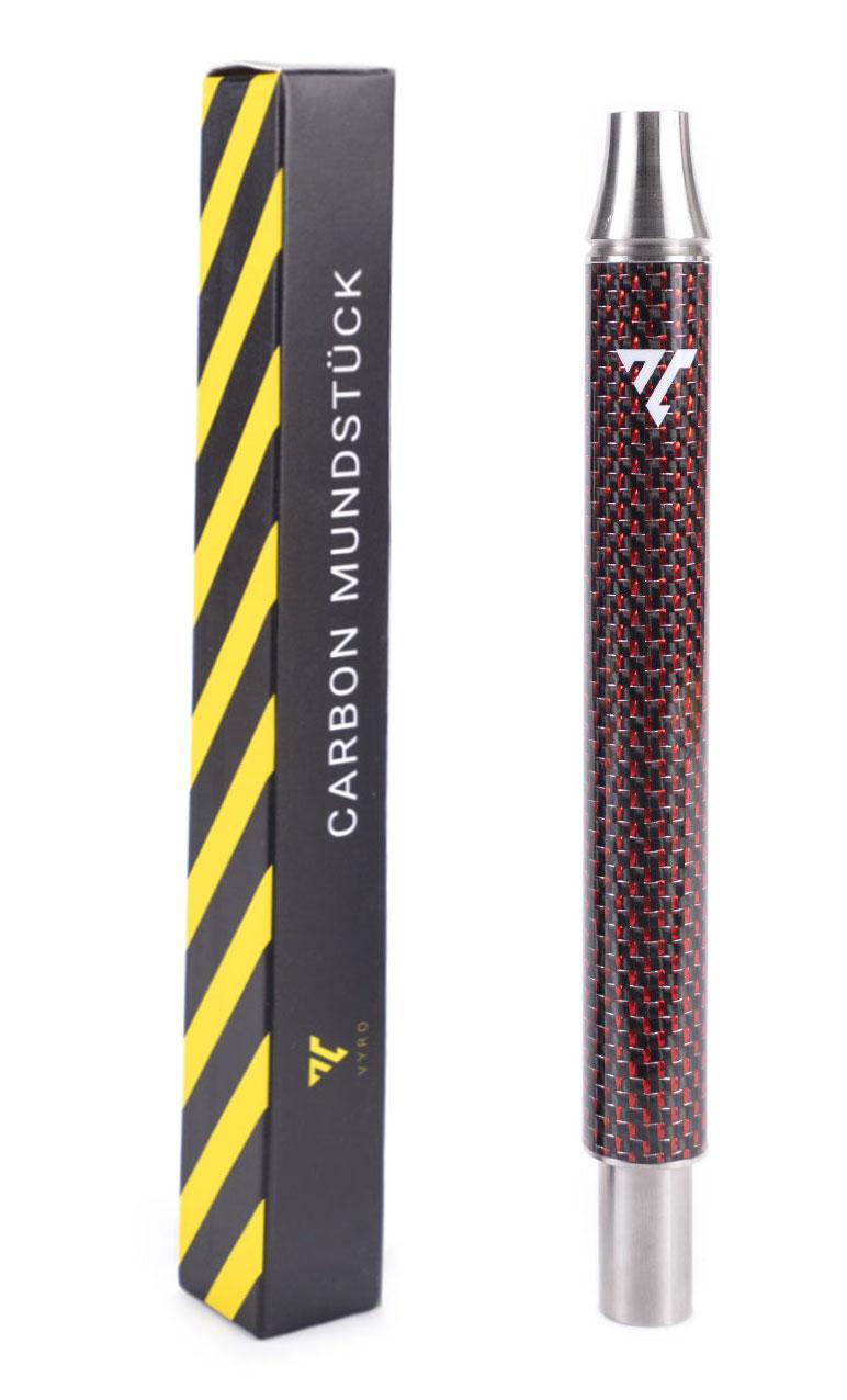 AEON VYRO Carbon Mundstück 17cm (Rot)
