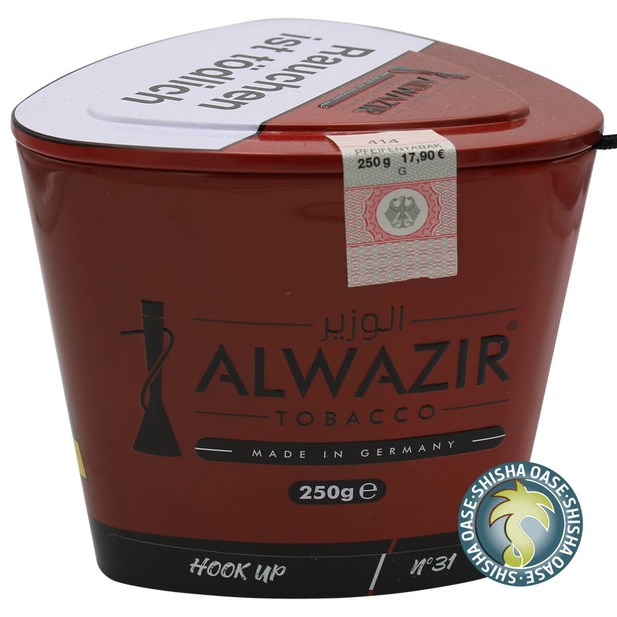 Al Wazir Tabak 250g Dose | Hook Up No.31