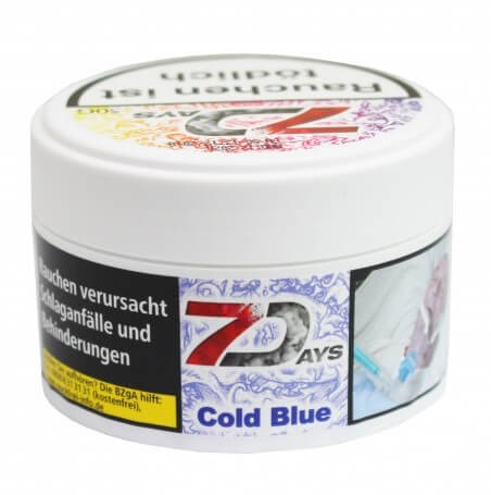 7 Days Classic Tabak - Cold Blue 50g