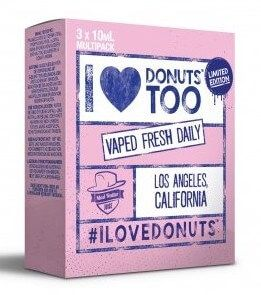 I Love Donuts too (3x10ml) - Mad Hatter Liquid - 0mg/ml