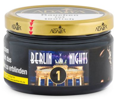 Adalya Tabak Berlin Nights 200g Dose