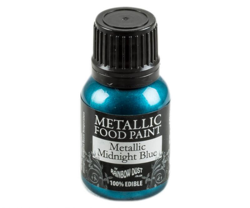 Rainbow Dust Metallic Farbe - Midnight Blue