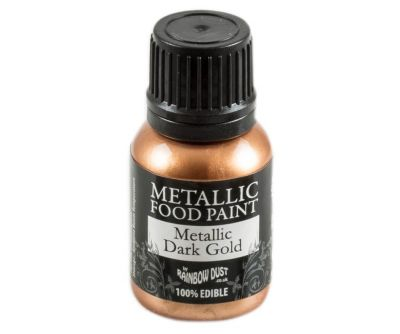 Rainbow Dust Metallic Farbe - Dark Gold